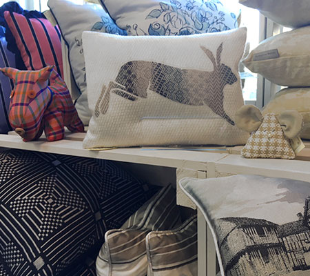 Various cushion designs